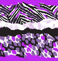 Animal pattern design vector