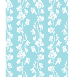 blue flowers 2 380 vector image