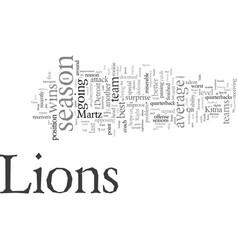 Detroit lions preview vector