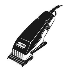 Electrical hair clipper or shaver object vector