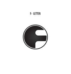 F-letter abstract logo vector