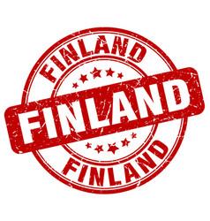 Finland stamp vector