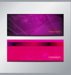 Header banner purple vector