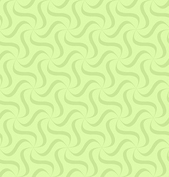 Liht green seamless curved pattern background vector