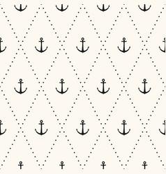seamless flat pattern polka dot vector image
