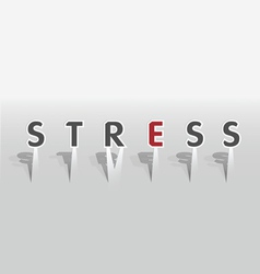 Stress word vector