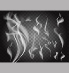 transparent smoke vector image