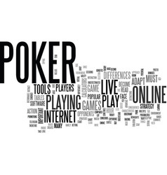 Why is that online poker has become so popular vector