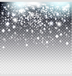 xmas sparkle background effectgreeting card star vector image