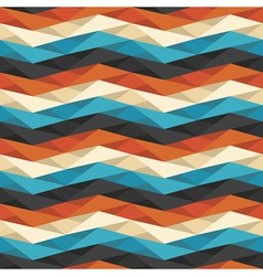 crumpled geometric background vector image vector image