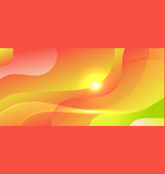 abstract background green and red gradient wave vector image