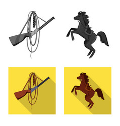 Design texas and history icon vector