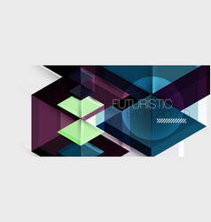 hexagon business presentation or brochure vector image