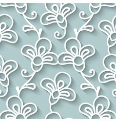 Paper lace texture vector