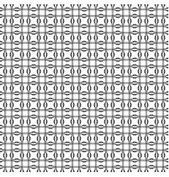 seamless pattern geometric tiles vector image