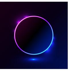 Square shape light blue pink frame for promotion vector