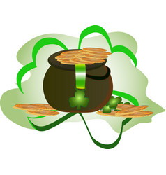 st patrick s day concept vector image