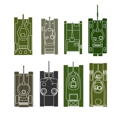 Tank collection vector