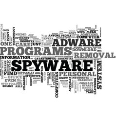 Why is there a need for a download adware spyware vector