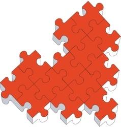 puzzle 05 vector image