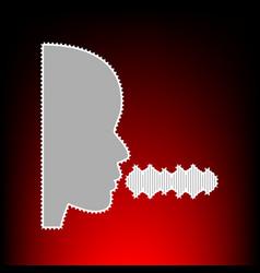 people speaking singing vector image vector image