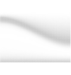 3d abstract bw halftone dotted grunge back vector image