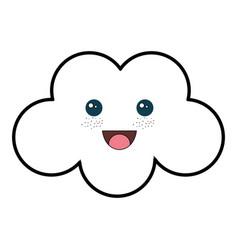 beautiful cloud babys vector image