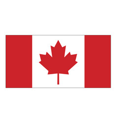 Canada flag symbol icon design vector