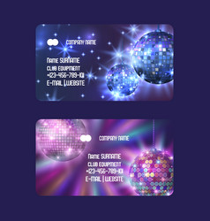 club equipment for disco show shop or store set of vector image