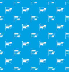 flag lgbt pattern seamless blue vector image