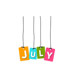 July word vector
