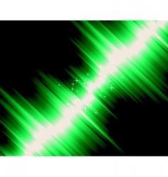 magic lights vector image