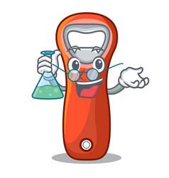 Professor aluminium bottle opener for design vector
