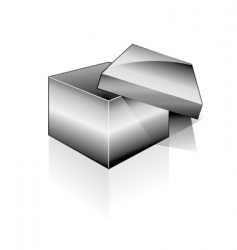 3d open box vector image vector image
