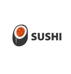 logo sushi vector image vector image
