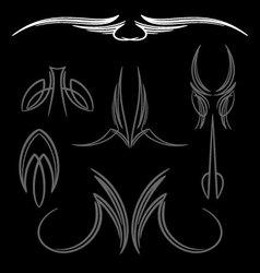 pinstripe-034 vector image