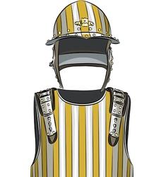 armor c vector image