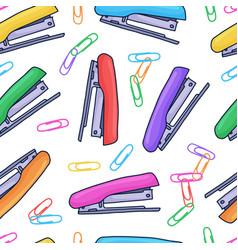 beautiful hand drawn seamless pattern fashion vector image