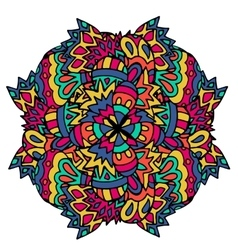 Ethnic patternsgeometric picture Authentic vector