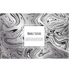 grey black white marble template trendy pattern vector image