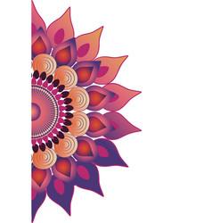 mandala buddhist symbol vector image