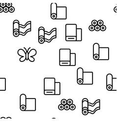 Silk seamless pattern vector