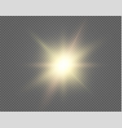 sun background sunshine design isolated on vector image