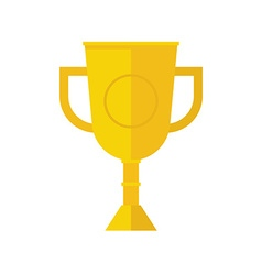 Winner Cup Outline Icon vector