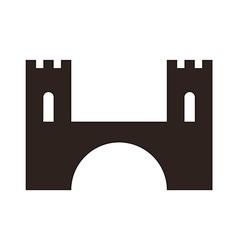 Bridge icon vector image vector image