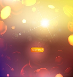 Soft Abstract Bubble Background vector image vector image