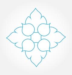 Lotus logo vector image