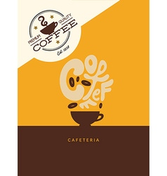 Abstract Coffee vector