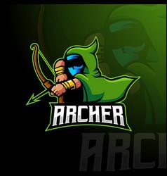archer logo vector image