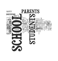 back to school helpful supplies for students text vector image